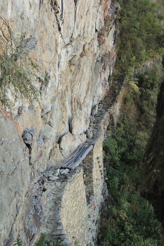 The drawbridge.