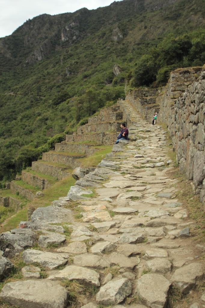 A segment of the Inca Trail