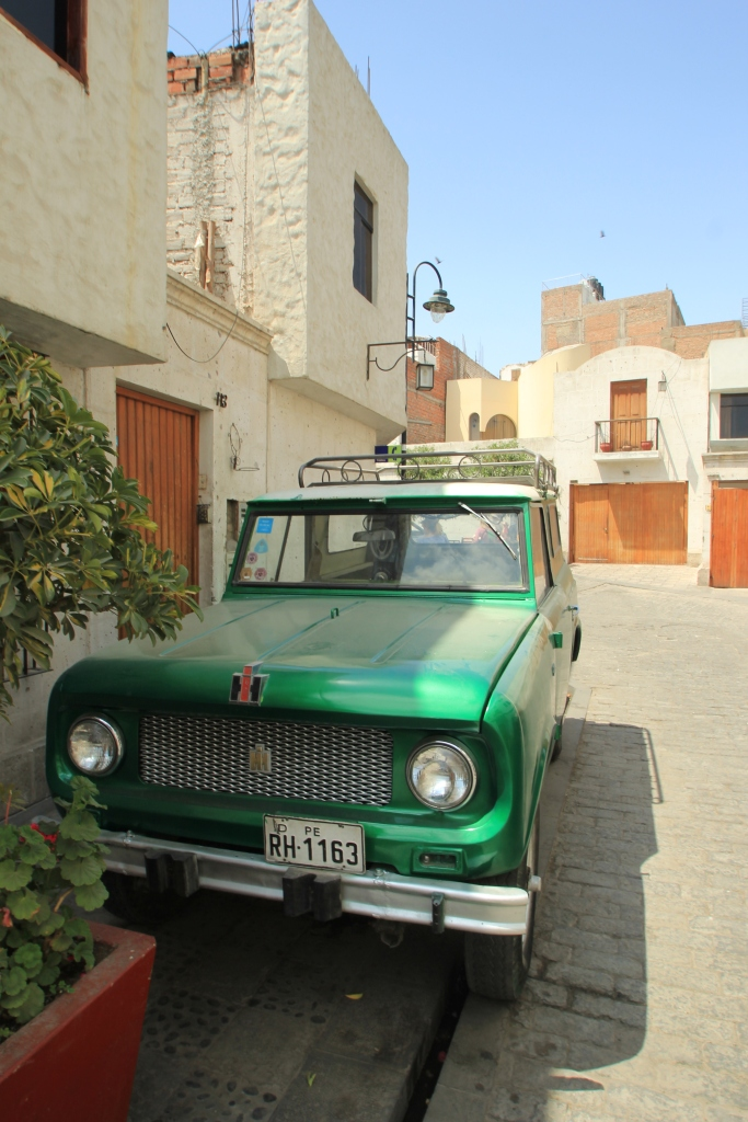 Saw this old beast while touring around Arequipa- didn't know International made more than tractors.