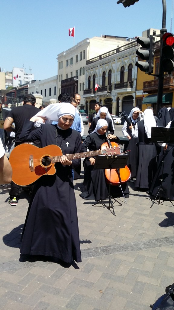 Rock and Roll nuns