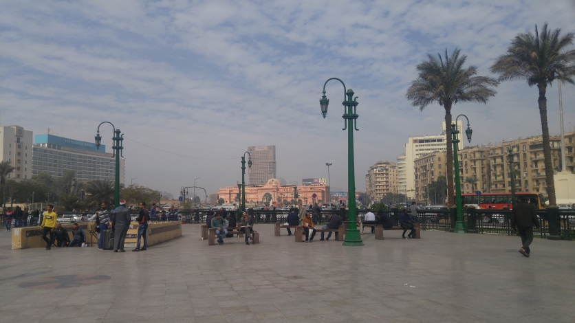 Tahrir Square seems quiet today